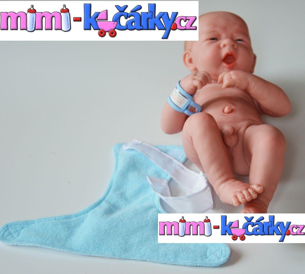 New born panenka - miminko Berenguer chlapec 36 cm