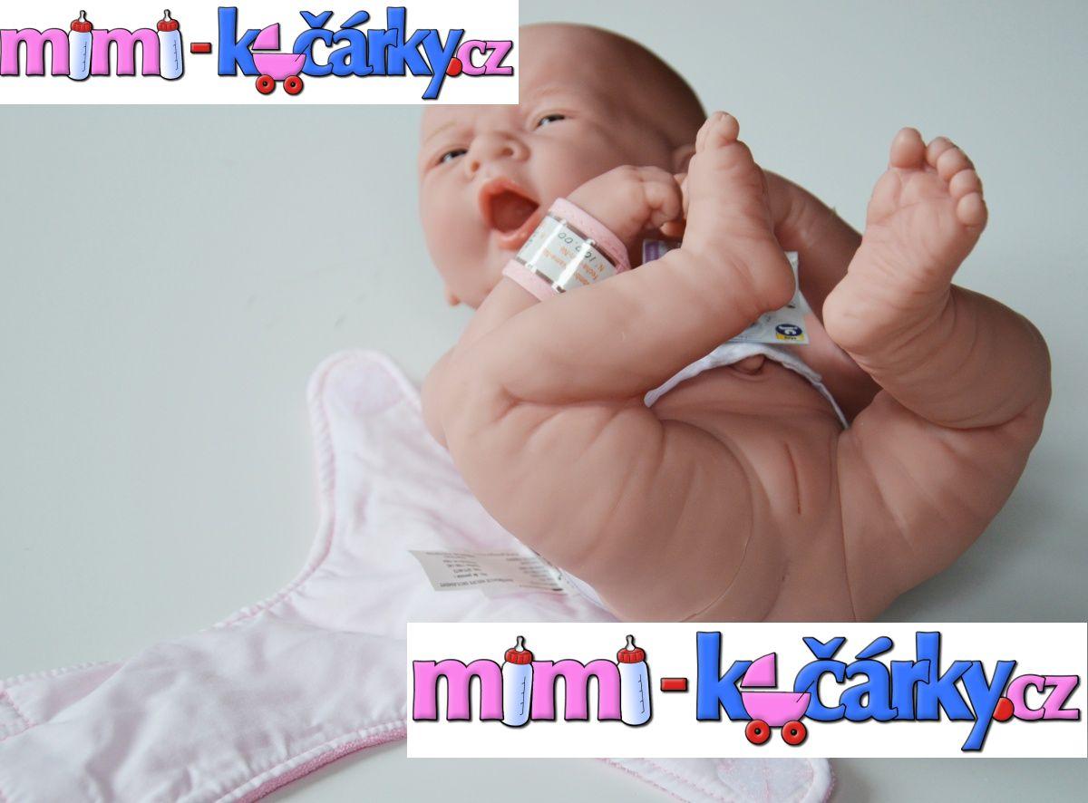 Realistická panenka - miminko Berenguer děvčátko 36 cm