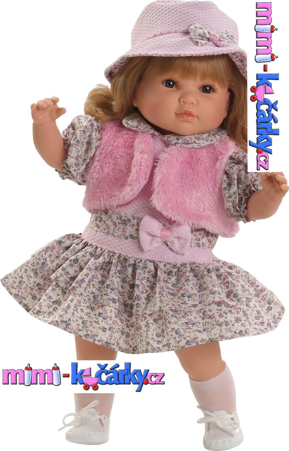 Velká realistická panenka Berbesa Sandra