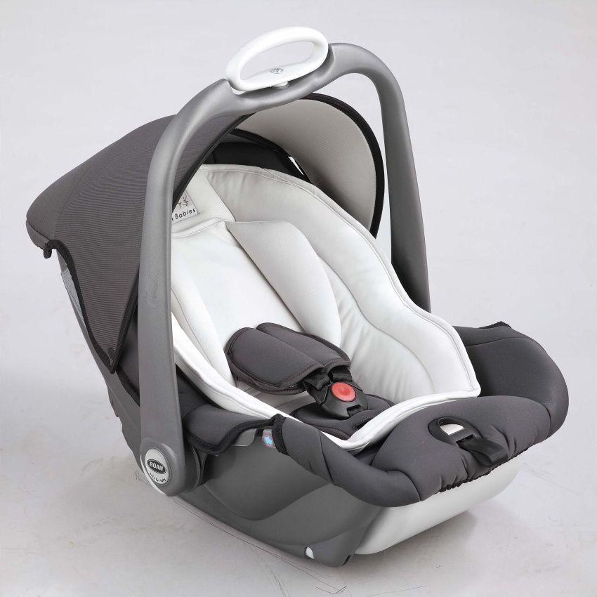 Autosedačka Roan Babies Millo 1-13 kg Autosedačka Roan grey