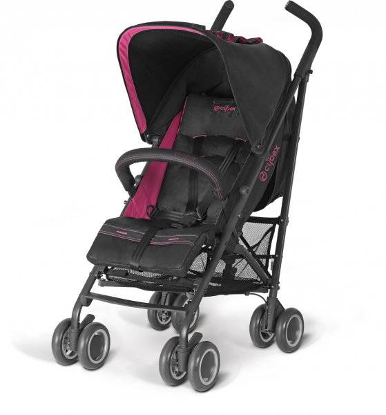 Golfový kočárek Cybex Onyx Fashion růžová - černá Magenta Pink