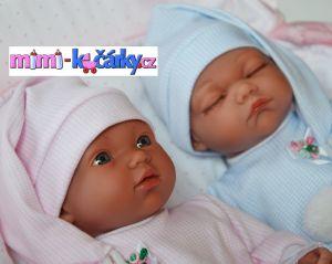 realistické panenky dvojčátka Arias