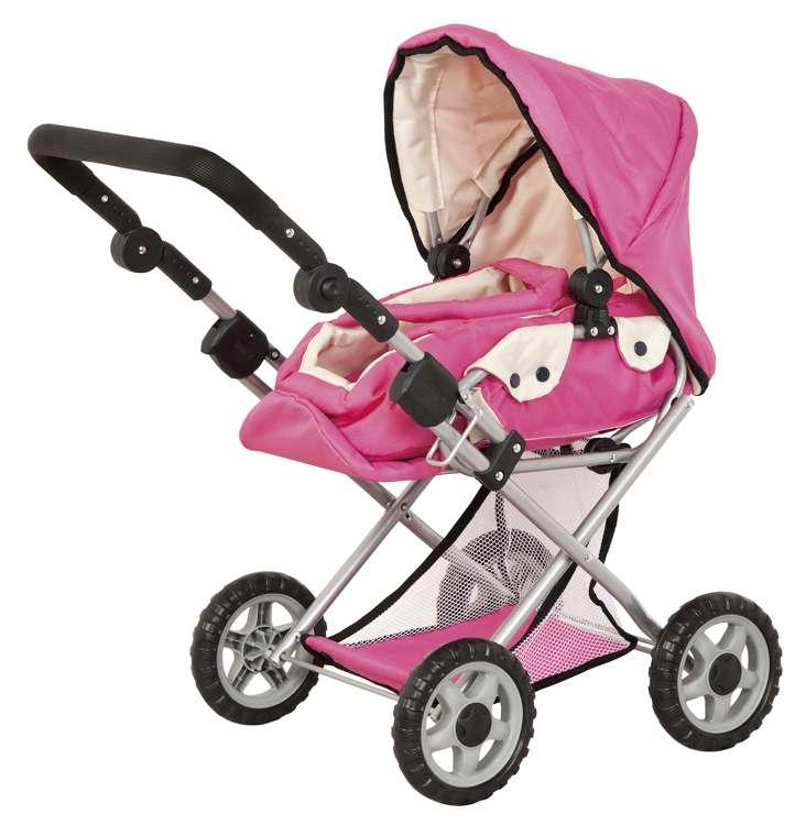 kočáreky pro panenky fialová 2016 růžová