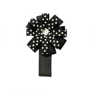 Designová magnetka na kočárek Black dots