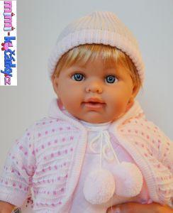 španělská Realistická panenka Arias Eliana krátké vlasy