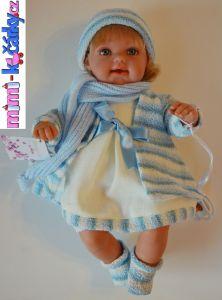Dětská panenka Arias Lisa jako živá
