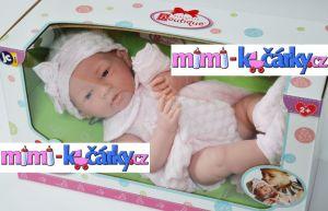 New born miminko Berenguer děvčátko 38 cm