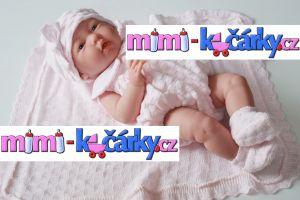 realistické miminko Berenguer děvčátko 38 cm