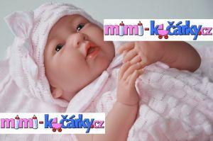 miminko jako živé Berenguer děvčátko 38 cm