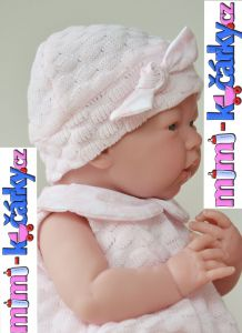 dětská panenka Berenguer miminko - děvčátko 38 cm