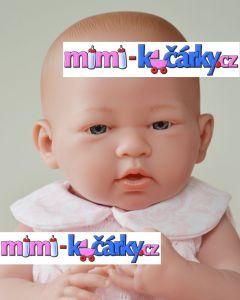 Berenguer vinilové miminko - děvčátko 38 cm
