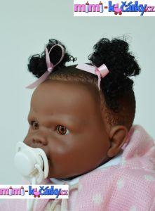 realistická panenka černoška Berbesa Alice