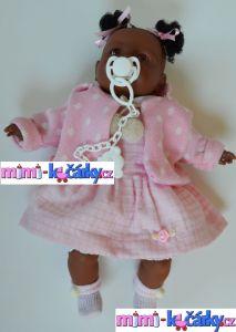 černoška panenka reborn Alice