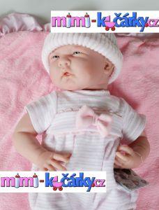 Panenka miminko Berenguer děvčátko s výbavičkou 39 cm