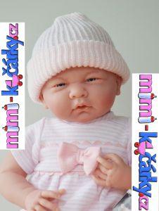 miminko Berenguer holčička s výbavičkou 39 cm