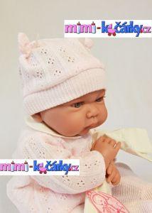 Realistická panenka Antonio Juan Nika holčička 40 cm