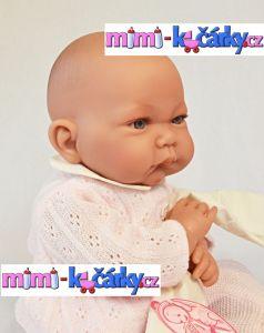 Mluvící panenka Antonio Juan Nika holčička 40 cm bez čepičky