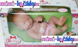 Realistické miminko Berenguer děvčátko 36 cm