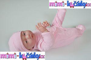 Panenka miminko Berenguer holčička 39 cm