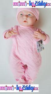 kvalitní realistická panenka miminko Berenguer holčička 39 cm v tašce