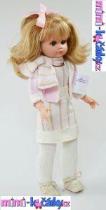Realistická panenka s blond vlasy Fanny