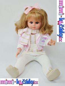 Panenka s dlouhými vlasy Fanny 40 cm sedí