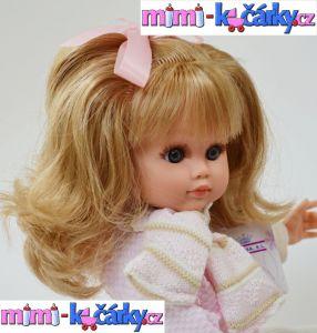 Panenka s dlouhými vlasy Fanny 40 cm detail