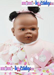 Mluvící panenka černoška Alice 42 cm a