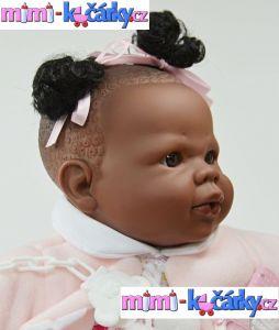 Mluvící panenka černoška Alice 42 cm b