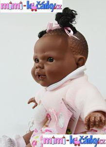 Mluvící panenka černoška Berbesa Alice 42 cm