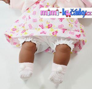 Mluvící panenka černoška Alice 42 cm e