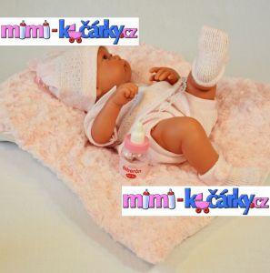 Panenka Antonio Juan Nika holčička s polštářem 42 cm