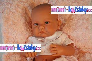 Miminko Antonio Juan Nika holčička s polštářem 42 cm