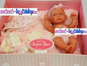 koupací miminko Antonio Juan Pitus holčička s polštářem