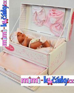 Reálná panenka - miminRealistická panenka - miminko Antonio Juan Toneta holčička 33 cm