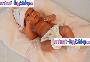 Reálná panenka - miminko Antonio Juan Toneta holčička 33 cm