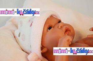 miminko jako živé Antonio Juan Toneta holčička 33 cm