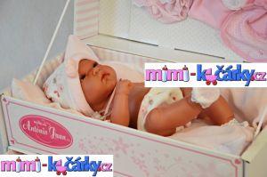 Panenka - miminko Antonio Juan Toneta holčička 33 cm
