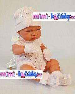 velká panenka Antonio Juan Toquilla holčička s dečkou 42 cm