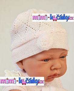 velké miminko Antonio Juan Toquilla holčička s dečkou 42 cm