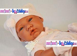 krásné miminko Antonio Juan Toquilla holčička s dečkou 42 cm