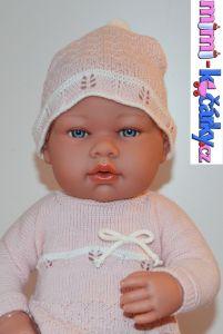 Reborn panenka Arias v šatech 42cm