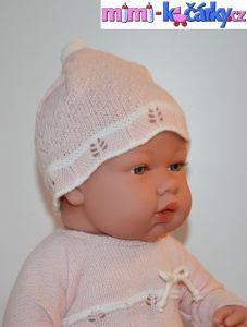 Reborn panenka Arias v šatičkách 42cm