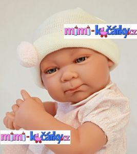 Realistické miminko Antonio Juan Olivie holčička 42 cm