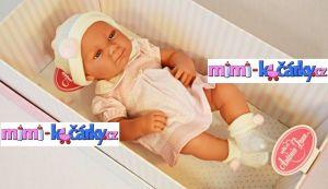 Realistická panenka Antonio Juan Olivie holčička 42 cm - detail