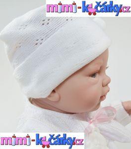 Španělská panenka Angels bílé oblečení 42 cm 5