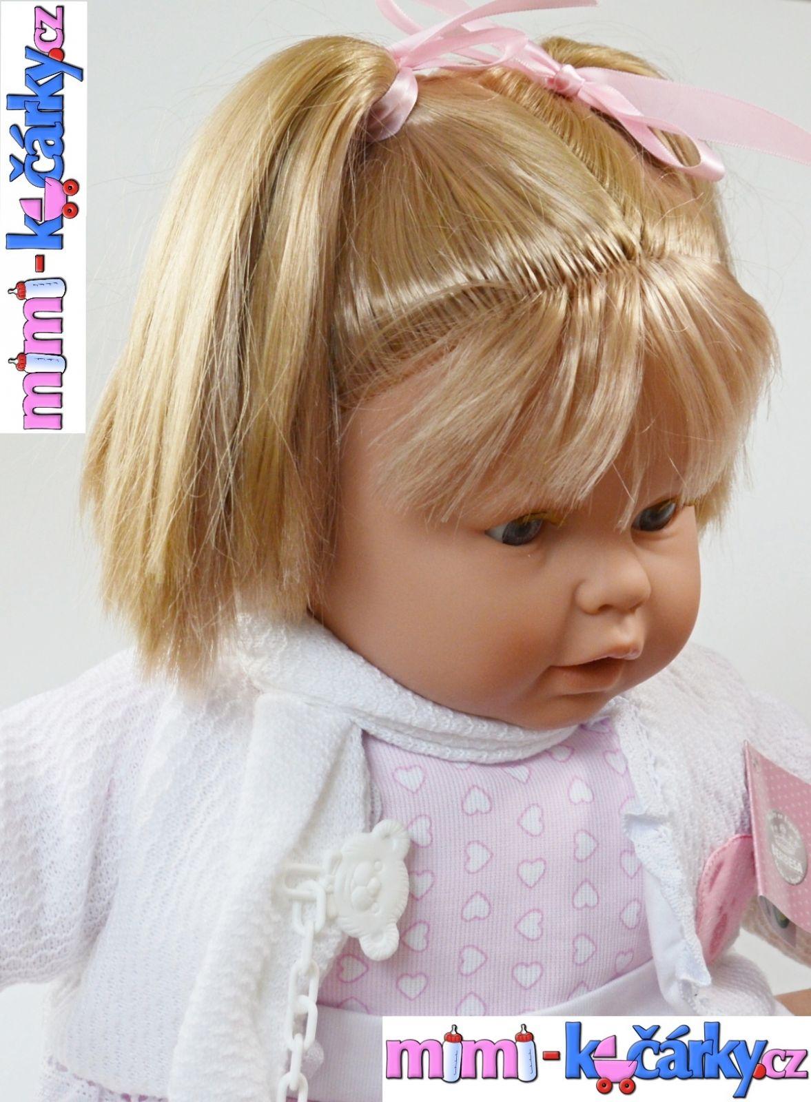 Mluvící panenka Berbesa Dulsone 62cm