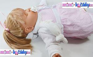 Mluvící panenka Berbesa Dulsone 62cm b
