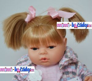 mluvící realistická panenka Berbesa Mariana