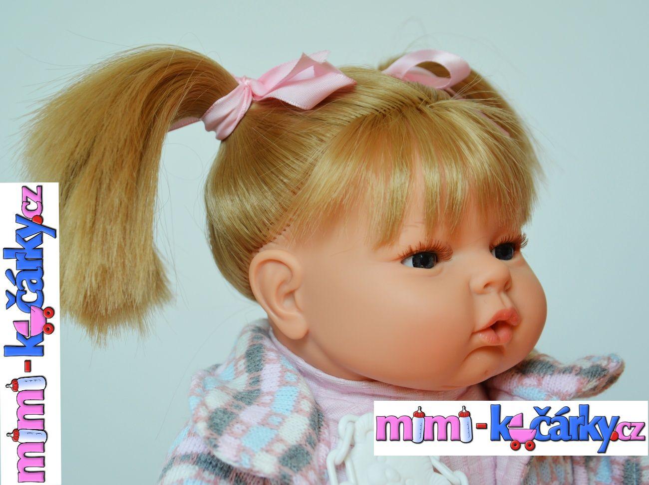 Velká mluvící panenka Berbesa Mariana 42cm